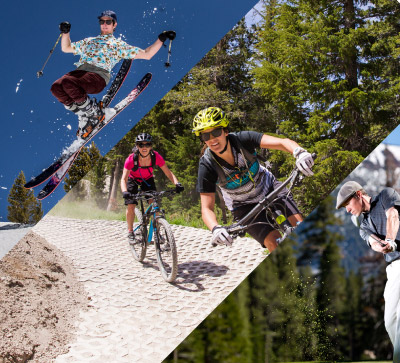 Ski, Bike & Golf for $99/Day
