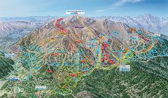 Mammoth Bike Park Trail Map