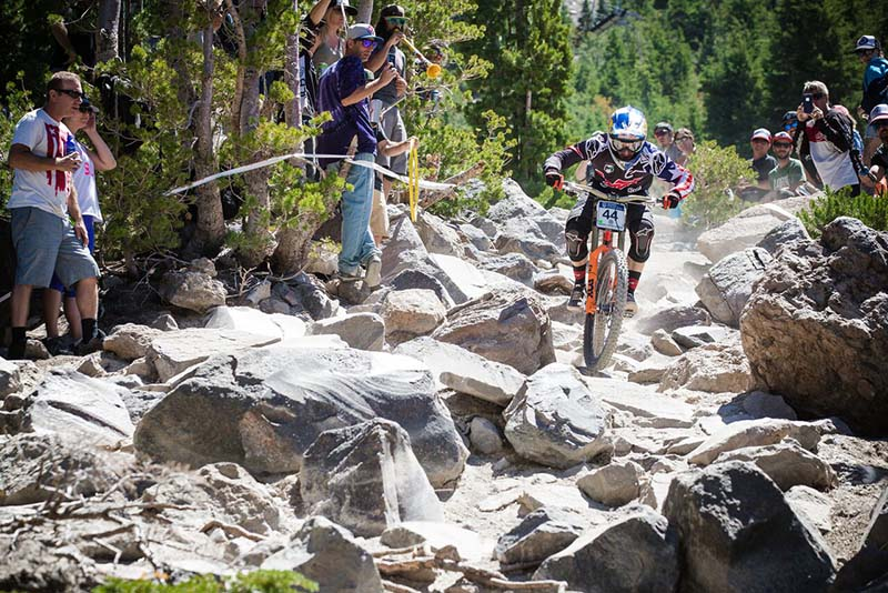 Mammoth MTB Nationals Rock Garden
