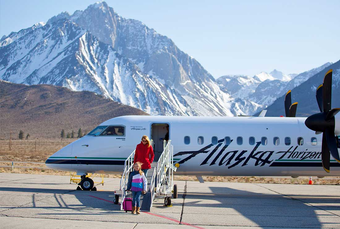 FLY TO MAMMOTH