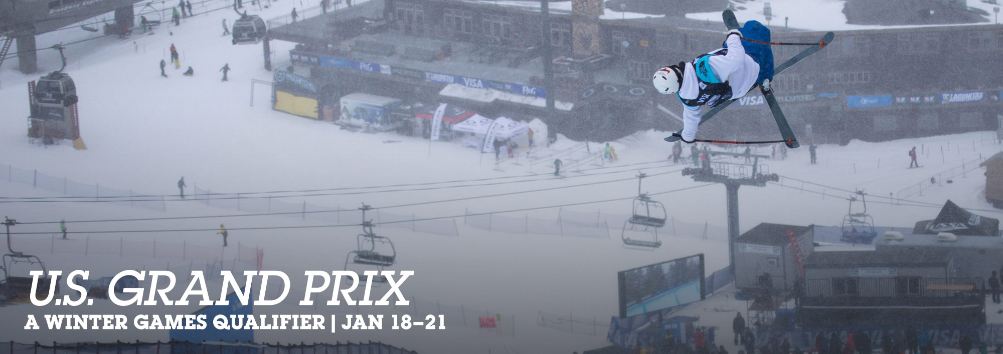 U.S. Grand Prix. A winter games qualifier. January 18–21.