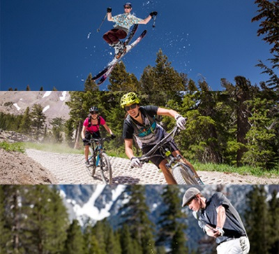 Ski, Bike & Golf in a Day
