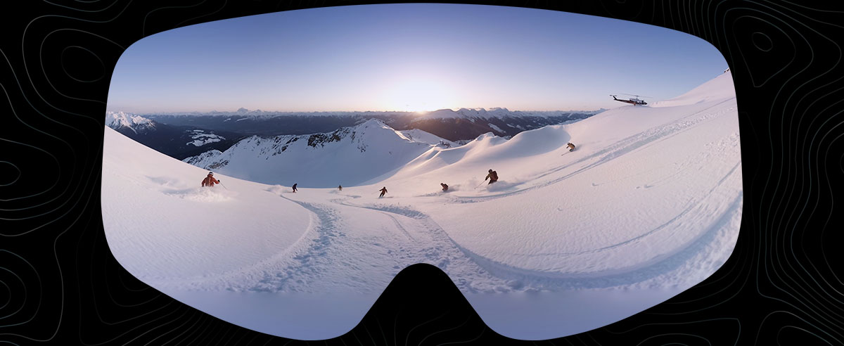 CMH Heli-Skiing presents Lines of Sight: A Guided Virtual Reality