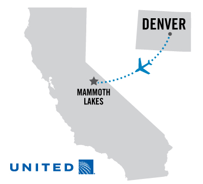 Daily Nonstop Flights from Denver