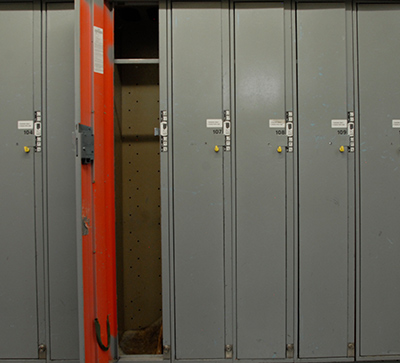 Single-Use lockers