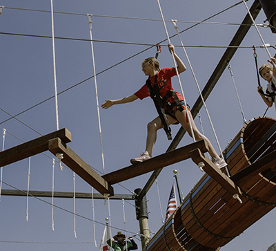 Kids Ropes Course – NEW