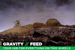 Gravity Feed, Your Hub for Everything on Two Wheels, July 4, 2018