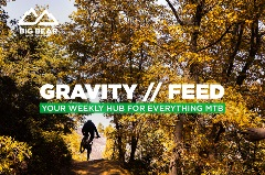 Gravity Feed, mountain biker