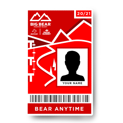 BEAR ONLY ANYTIME PASS