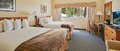 *2 Queen Bed Hotel Room - Bed 1