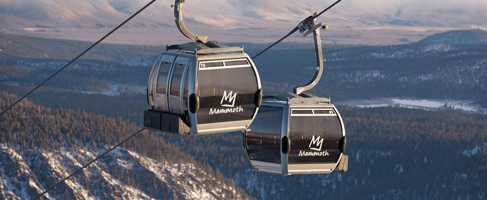 Gondola in crystal mountain