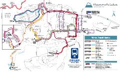 19-20 Mammoth Lakes Winter Transit Map