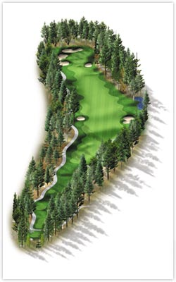Sierra Star Golf Course - Hole 4