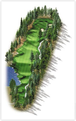 Sierra Star Golf Course - Hole 9