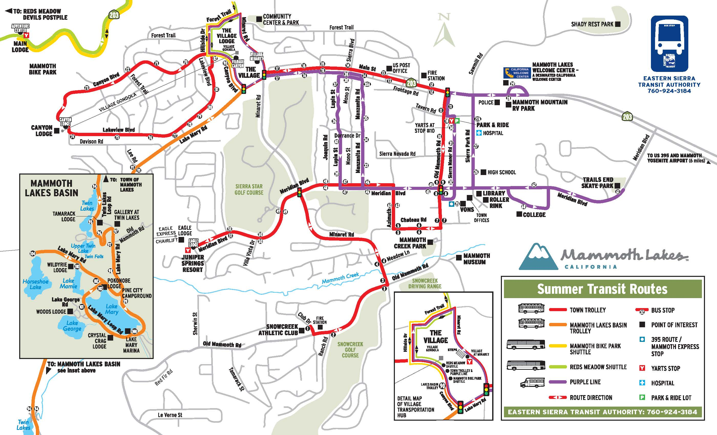 Free Mountain Shuttle Service See Routes Mammoth Mountain