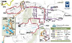 Mammoth Summer Transit Routes