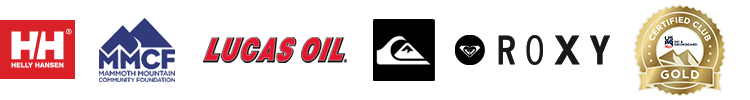 Helly Hansen, Mammoth Mountain Community Foundation, Lucas Oil, Quiksilver, Roxy, Certified Gold US Ski & Snowboard
