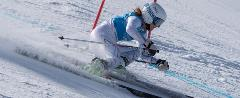 Girl Alpine Ski Racing