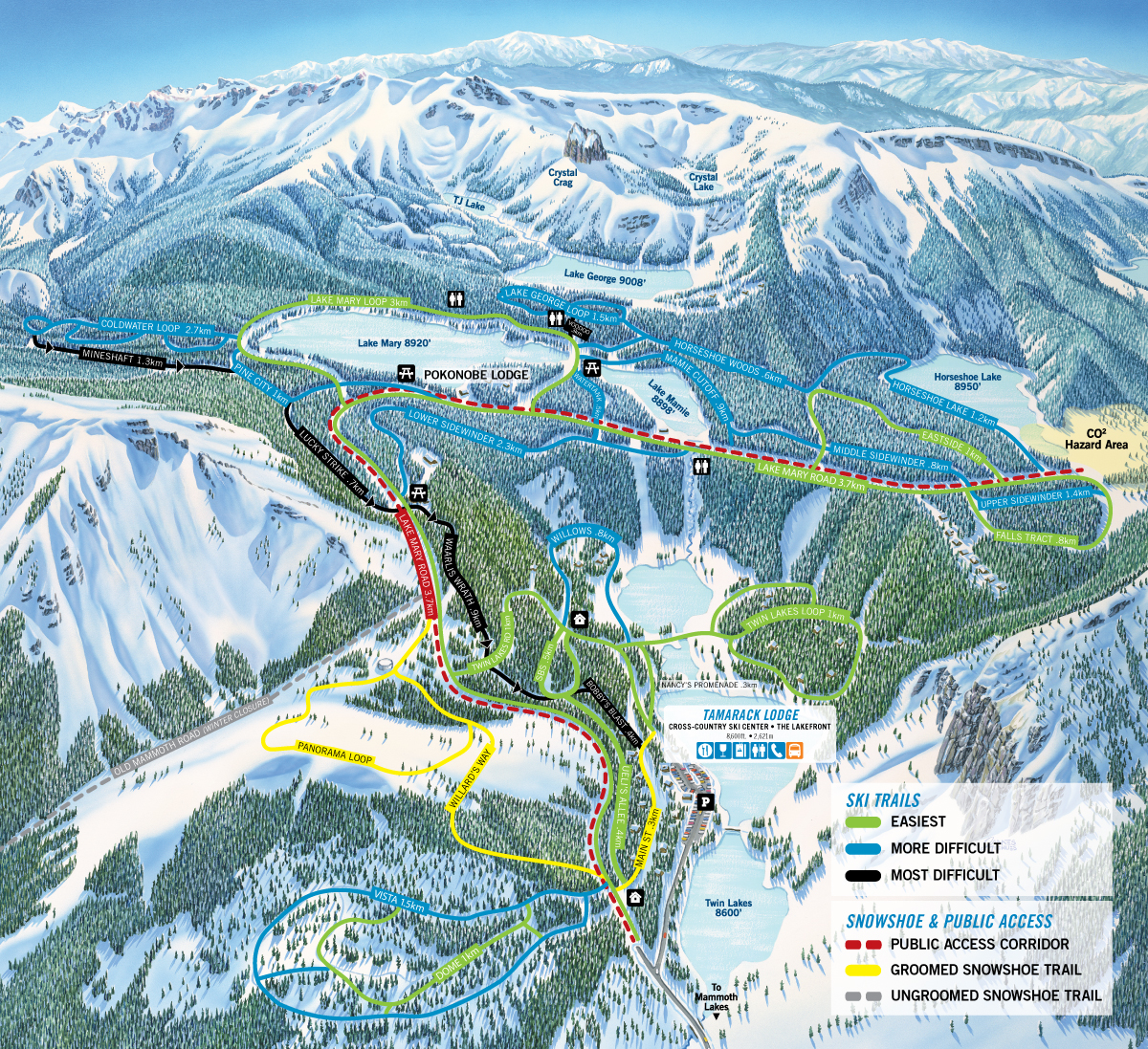 Tamarack Ski Center Trail Map & Conditions | Learn More on chief mountain trail map, bishop trail map, jericho mountain trail map, parker mountain trail map, map of vail mountain trail map, alpine meadows ski resort trail map, snowbasin mountain trail map, mammoth trail map pdf, salisbury ct trail map, catalina mountain trail map, attitash bear peak trail map, laurel mountain trail map, mendocino trail map, ski mountain map, mammoth mtn trail map, morgan creek trail map, powder mountain trail map, city park bike trails map, snowbird mountain trail map, big mountain trail map,