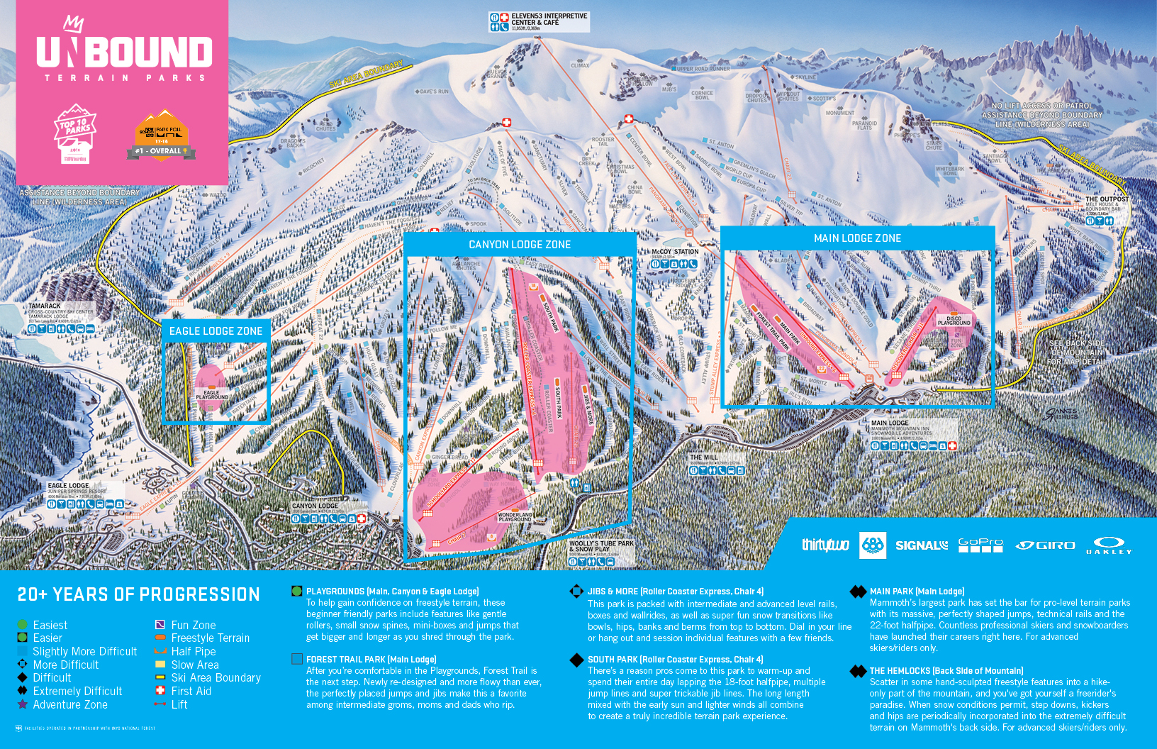Unbound Terrain Park Map | Learn More | Mammoth Mountain on chief mountain trail map, bishop trail map, jericho mountain trail map, parker mountain trail map, map of vail mountain trail map, alpine meadows ski resort trail map, snowbasin mountain trail map, mammoth trail map pdf, salisbury ct trail map, catalina mountain trail map, attitash bear peak trail map, laurel mountain trail map, mendocino trail map, ski mountain map, mammoth mtn trail map, morgan creek trail map, powder mountain trail map, city park bike trails map, snowbird mountain trail map, big mountain trail map,