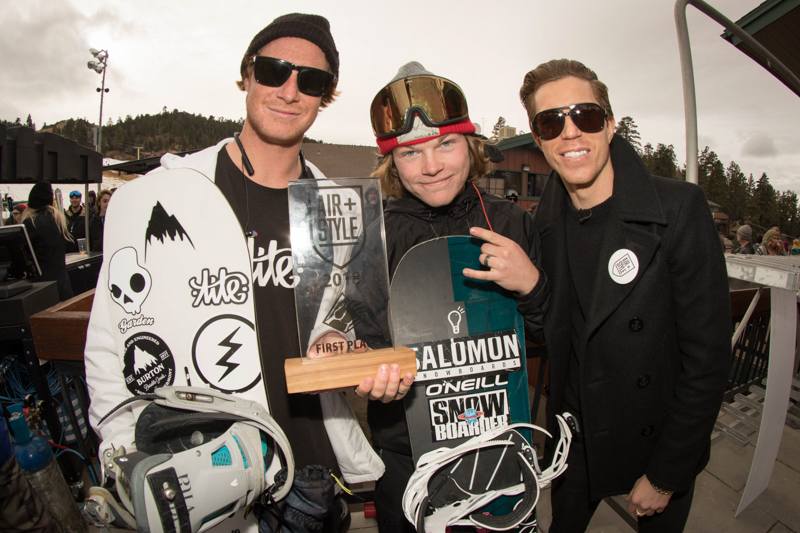 air and style qualifiers at bear mountain winners and shaun white