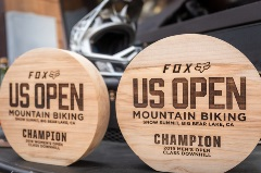 wooden awards for fox us open of mtb