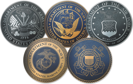 USA Military Badges