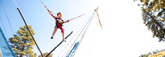 kid on a eurobungy