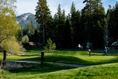 Enjoy the benefits of playing at 7,000 feet with the sun-splashed San Bernardino Mountains as your backdrop.