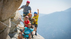 The Tahoe Via Ferrata is the perfect activity for the adventurous family.