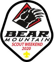 Bear Mountain Scout Badge for 2020