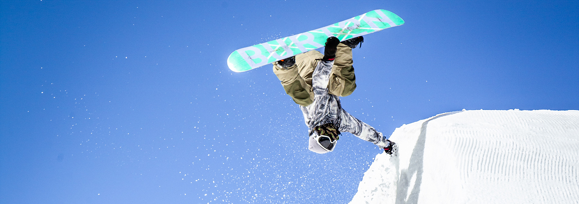 snowboarder doing a trick