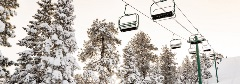 snowy chairlifts at bbmr