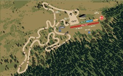 Map of the Motocross Track
