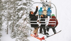 Lift+Lodging Package